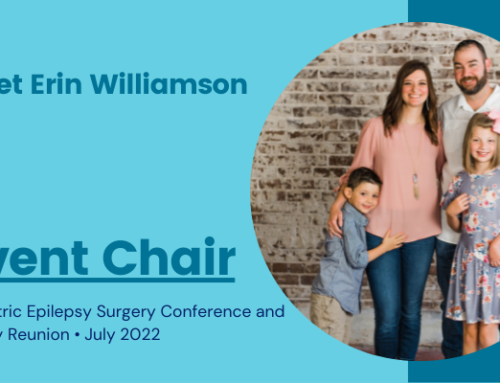 Meet Erin Williamson, our 2022 family conference event chair!